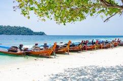 Lipe Insel Thailand Stockfotos