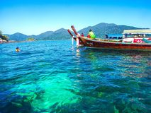 Lipe Thaïlande Image libre de droits