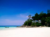 Lipe wyspa, Satun, Tajlandia fotografia royalty free