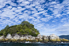 Lipe wyspa w Tajlandia Obrazy Royalty Free