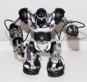 Lipeck, Federazione Russa 16 gennaio 2018: Robot di modello alla mostra dei robot nella città di Lipeck fotografie stock libere da diritti