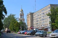Lipetsk, ROSJA - 05 08 2015 Widok cathedral Obraz Royalty Free