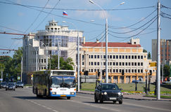 Lipetsk, RUSSIA - 05.08.2015. The Arbitration Court of Lipetsk region. The Arbitration Court of Lipetsk region Stock Photography