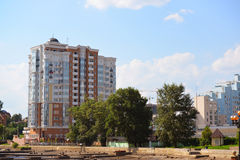 Lipetsk RUSSIA-05.08.2015. Cityscape the central part of  city Stock Photo