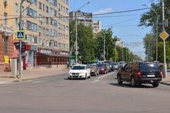 Lipetsk, RUSSIE - 05 08 2015 Vue sur un de Photos stock