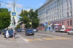 Lipetsk, RUSSIE - 05 08 2015 Vue sur un de Photographie stock