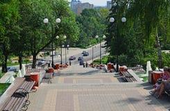 Lipetsk, RUSSIE - 05 08 2015 Vue sur un de Image stock