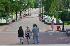 Lipetsk, RUSSIE - 05 08 2015 Vue sur un de Photos libres de droits