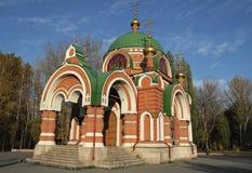 lipetskpaul peter russia ss tempel royaltyfri bild