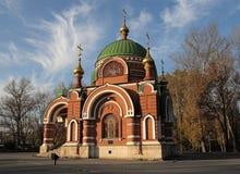 lipetskpaul peter russia ss tempel Royaltyfri Fotografi