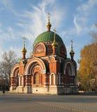 lipetskpaul peter russia ss tempel Arkivfoto