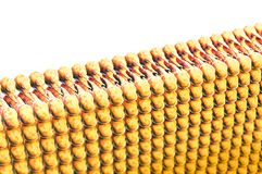Lipidevorming, vet in het menselijke lichaam Weergeven onder de microscoop vector illustratie