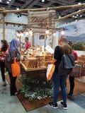 27 Lipiec 2016 jedzenia & napoju handlu międzynarodowego jarmark przy KLCC Fotografia Stock