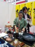 27 Lipiec 2016 jedzenia & napoju handlu międzynarodowego jarmark przy KLCC Zdjęcie Royalty Free