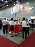 27 Lipiec 2016 Malezyjski jedzenia & napoju handlu międzynarodowego jarmark przy KLCC Fotografia Stock