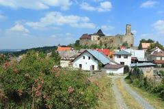 Lipnice nad Sazavou castle Stock Photos