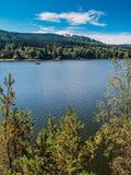 Lipno Dam - Sumava National Park, Czech Republic. Europe Royalty Free Stock Photography