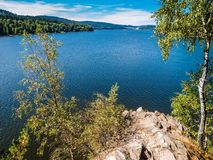 Lipno Dam - Sumava National Park, Czech Republic. Europe Stock Image