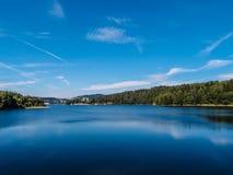 Lipno Dam - Sumava National Park, Czech Republic. Europe Royalty Free Stock Photos