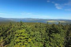 Lipno Lake Stock Photo