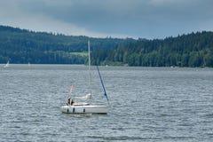 Lipno. View of Lipno at summer. Lake south bohemia Stock Image