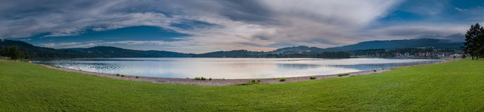 Lipno - Water Reservoir - Panorama Royalty Free Stock Image