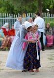 Lipovan girls stock images