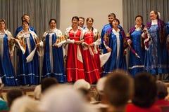 Lipovans choir Stock Photo