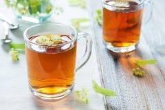Lipowa herbata Zdjęcie Stock
