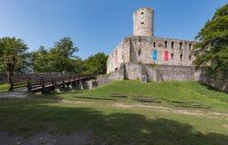 Lipowiec Castle Stock Photo