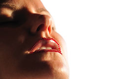 Lippen stock foto's