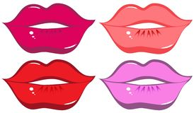 Lippen Stock Illustratie