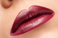 Lippen lizenzfreie stockbilder
