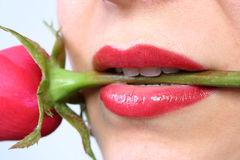 Lippen Lizenzfreies Stockbild