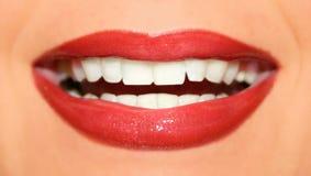 lippen rote Royaltyfri Bild