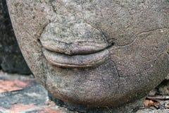 Lippen von Buddha Lizenzfreies Stockfoto