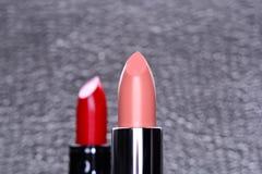 Lippenstift-nahes hohes Stockbilder