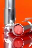 Lippenstift reflektierte A Lizenzfreie Stockfotografie