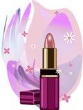 Lippenstift. Vektorabbildung Lizenzfreie Stockfotos