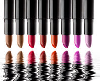 Lippenstifte Lizenzfreies Stockfoto