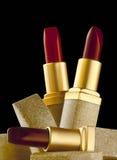 Lippenstiftenstilleven Stock Afbeelding