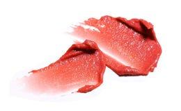 Lippenstiftprobe Stockbilder
