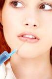 Lippenvergrößerungsprozedur Lizenzfreie Stockfotos