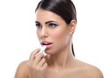 Lippenzorg royalty-vrije stock afbeeldingen