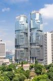The Lippo Buildings in Hong Kong Stock Photos
