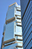 Lippo Center building in Hongkong Stock Images