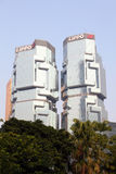 The Lippo Centre in Hong Kong Stock Photo