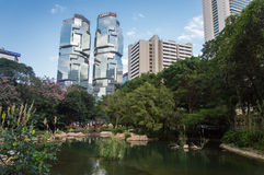 Lippo mitt, Hong Kong Arkivbilder