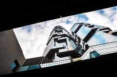 Lippo-Mitte, die oben, Hong Kong schaut Stockbild