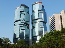 Lippo-Mitte in Hong Kong lizenzfreie stockbilder